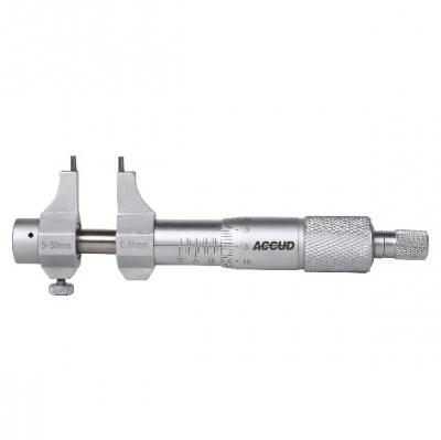 MICROMETRO INTERIOR MECANICO ACCUD 100 MM - 125 MM , 0.01MM
