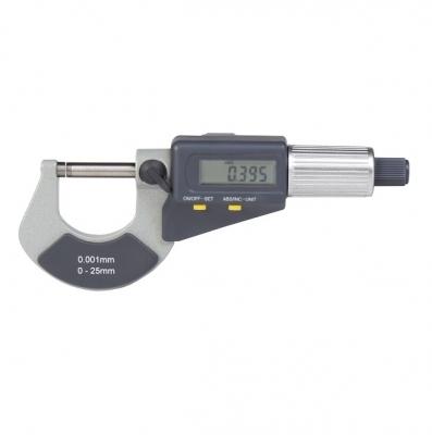 MICROMETRO EXTERIOR DIGITAL ACCUD 0 MM - 25 MM , 0.001MM