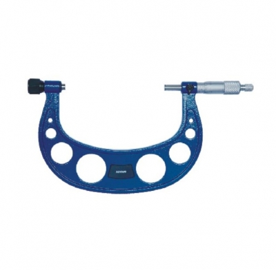 MICROMETRO EXTERIOR C/ TOPE INTERCAMBIABLE  ACCUD 0-100 MM